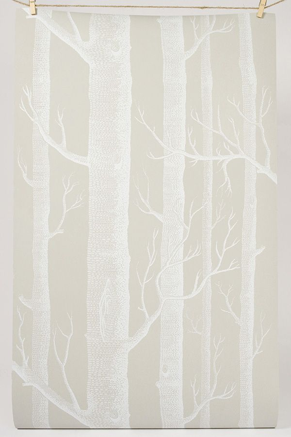 Creamy Background and White Trees - good color for stairs