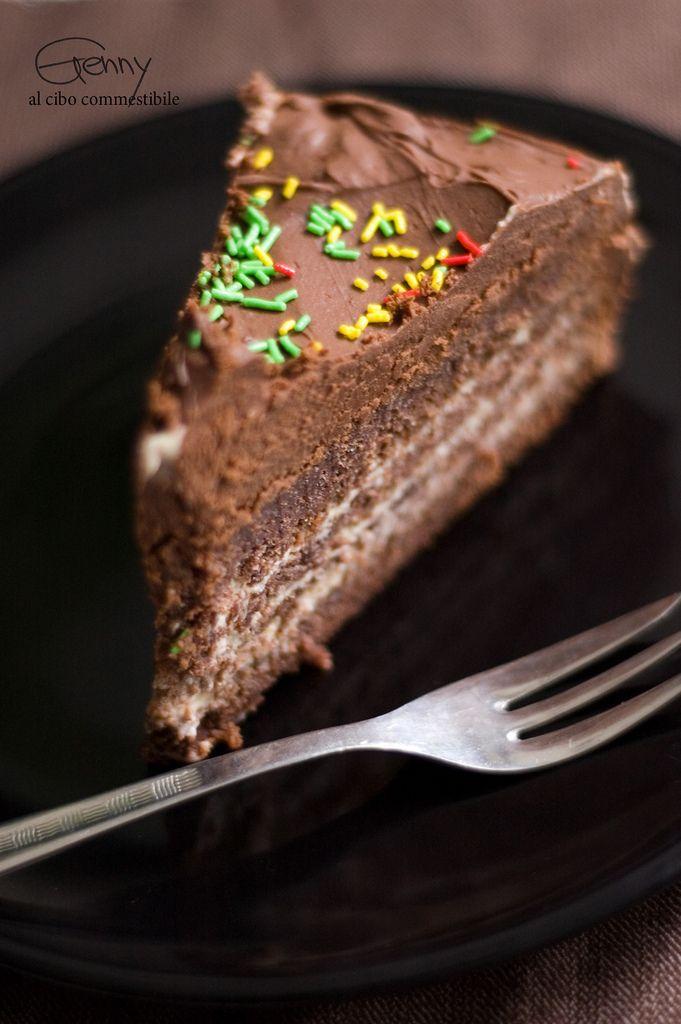 Torta tiramisu' al cioccolato