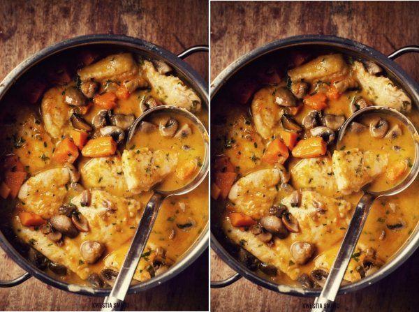 Pierś z kurczaka ala gulasz ♥♥♥ Pyszności...