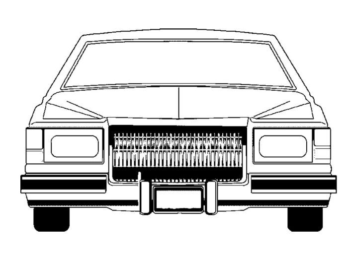 cadillac lowrider classic coloring page all colored up