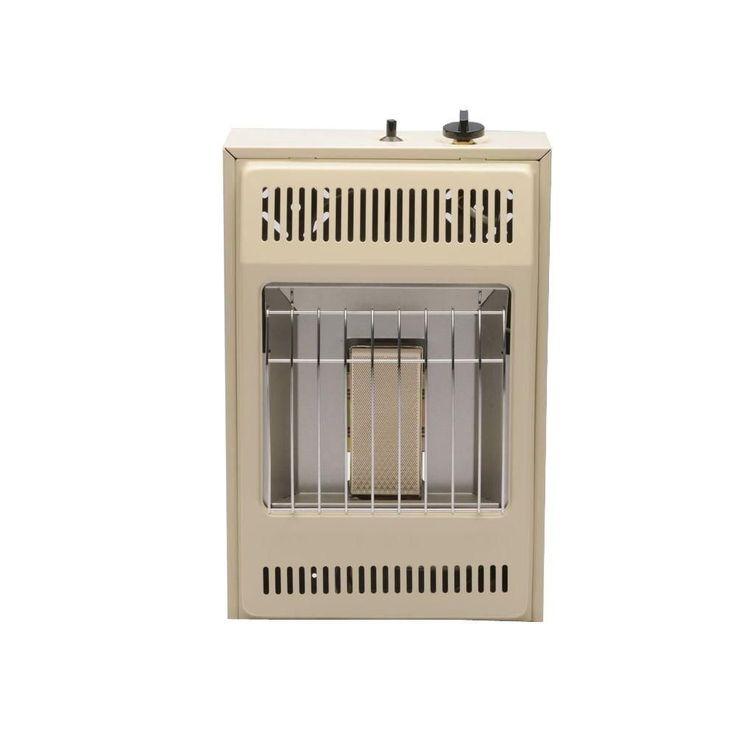 Infrared 13-5/8 in. x 21-3/16 in. 5,000 BTU Vent-Free Propane Wall Heater, Beige