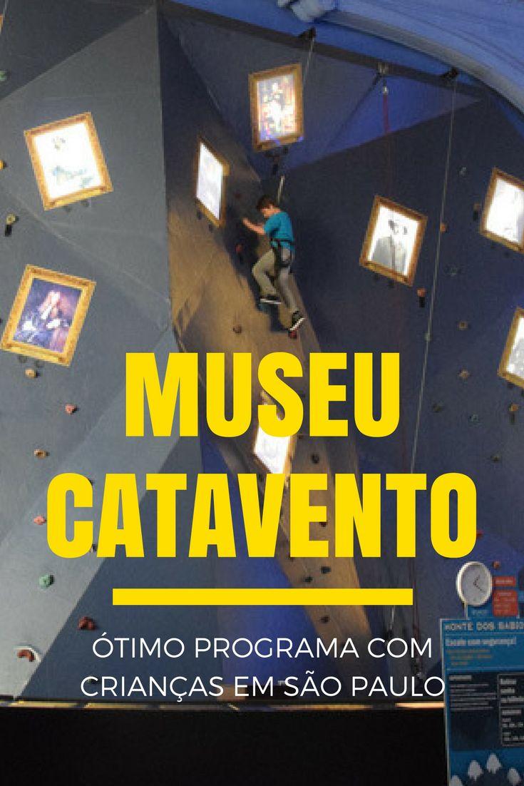 O Museu Catavento Cultural é um museu de ciências, e um programa super divertido com crianças em São Paulo! Veja o post para conhecer sobre as exposições permanentes e como o museu funciona: http://www.viagememdetalhes.com.br/museu-catavento-otimo-programa-com-criancas-em-sp/
