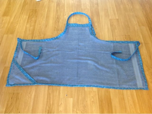 Bath Towel Apron with Hood for Baby