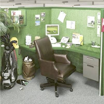 golf office decor. For The Golf Enthusiast Love It Office Cubicle Decorating Ideas . Decor