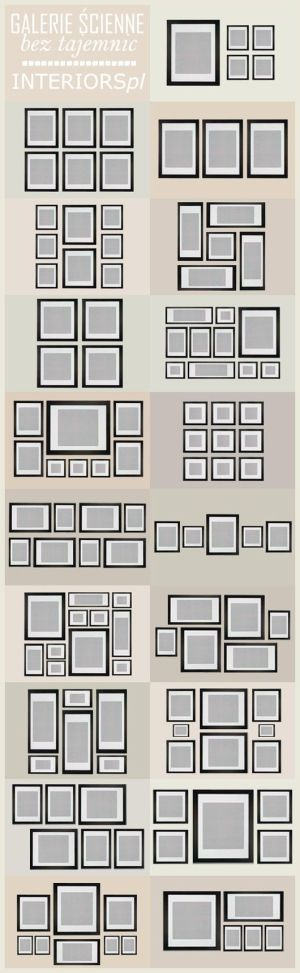 Wall collage ideas - Click image to find more Home Decor Pinterest pins - so cool by DenyMacMart
