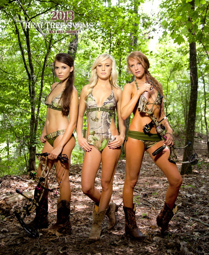 sexy girls in camouflage