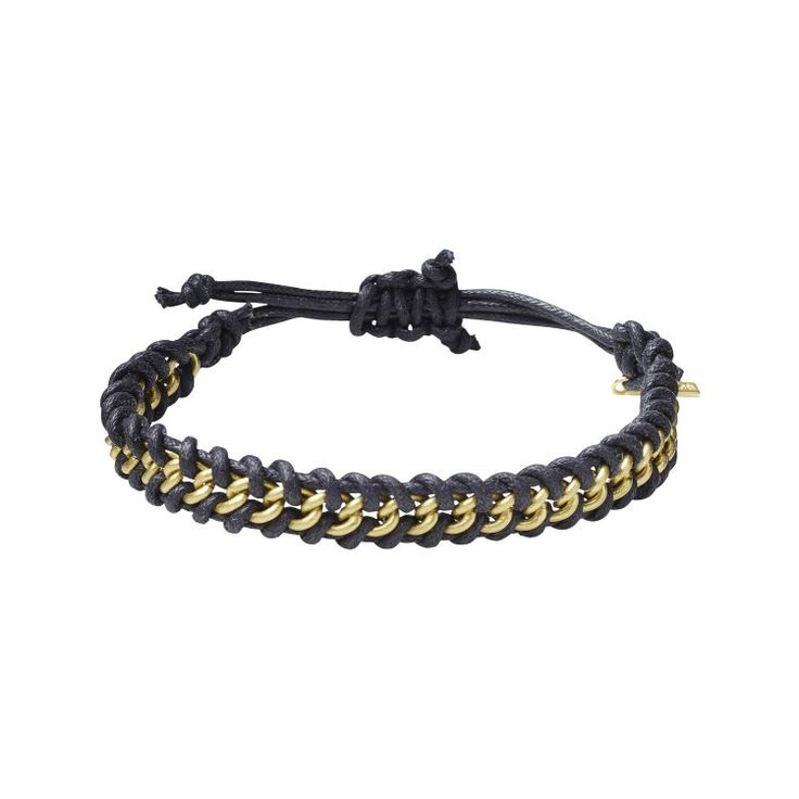 Scotch and Soda cord and metal bracelets | John-Andy.com