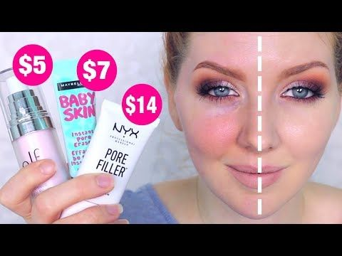 Drugstore Makeup Dupes | for Benefit Pore-fessional - YouTube
