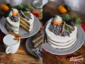 Food pour vous: Gingerbread Cake/ Пряничный торт