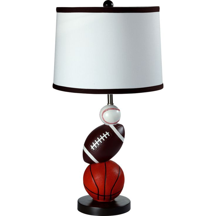 """Sport 25"""" H Table Lamp with Empire Shade"""