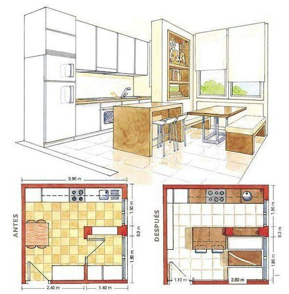 План кухня