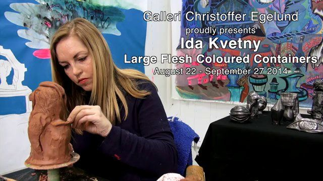 Ida Kvetny - Large Flesh Coloured Containers (teaser two)