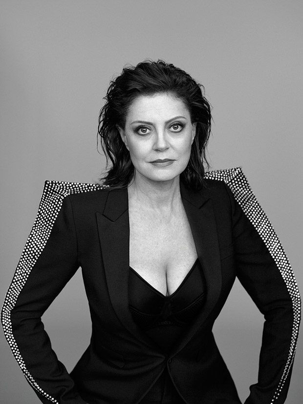 Susan Sarandon Stars in the Cover Story of Elle UK November 2017 Issue