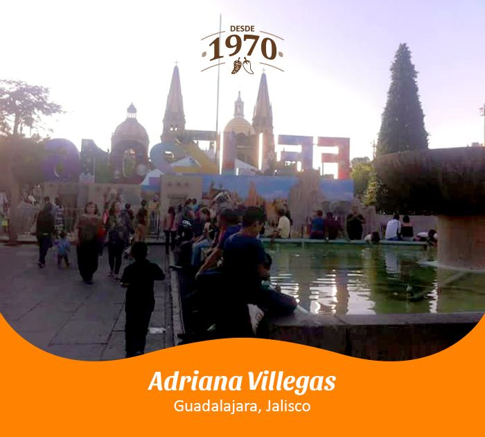 Guadalajara, Jalisco por Adriana Villegas.