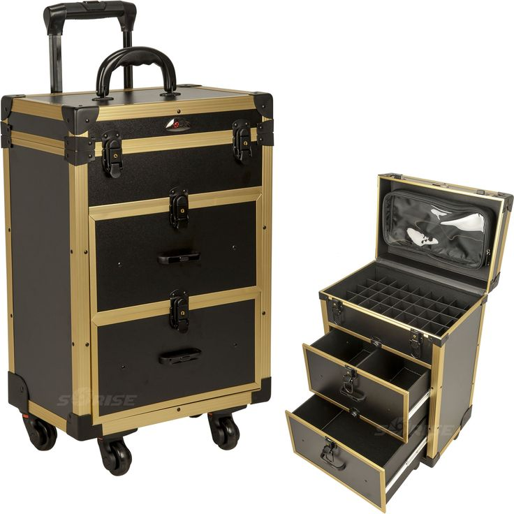 Anconella Rolling Makeup Case by Sunrise