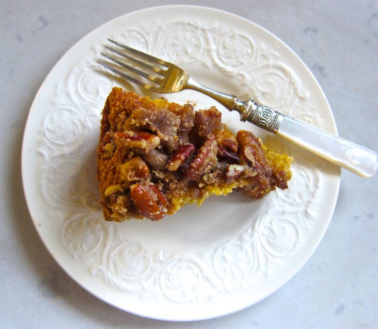Pumpkin Pecan Maple Coffee Cake | Sweet Stuff | Pinterest
