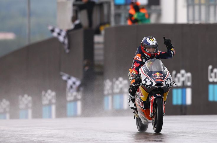 From Vroom Mag... Red Bull MotoGP Rookies: Sachsenring race 1 report