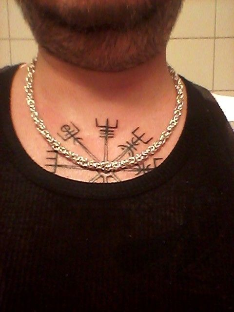 Viking king silver necklace homemade