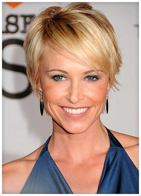 16 Lovely Short Cuts for Oval Faces | 2013 Short Haircut for Women