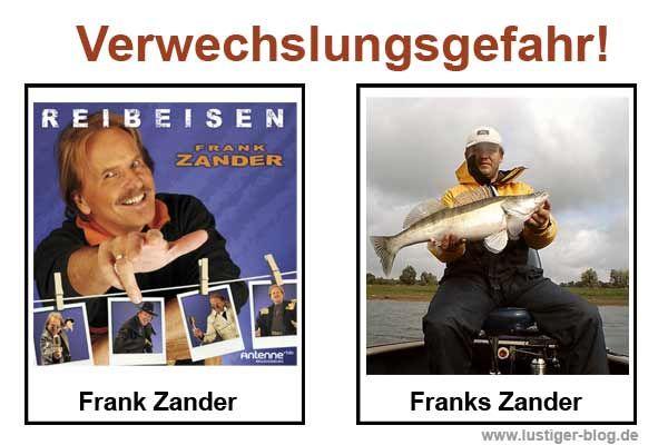 Verwechslungsgefahr Frank Zander