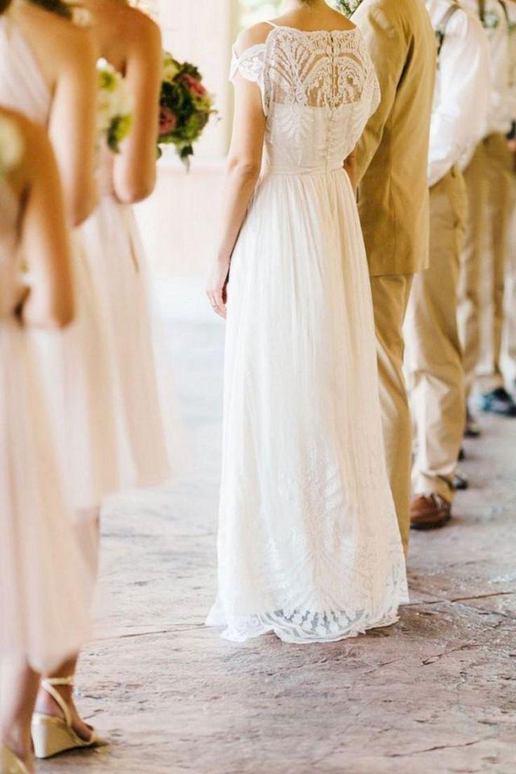 11 erstaunliche lässige Brautkleider für den Sommer Stil  Lässige