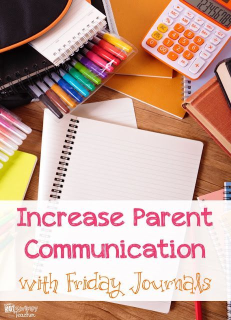 Increase Parent Communication with Friday Journals. They serve as as writing practice and a weekly exit ticket!