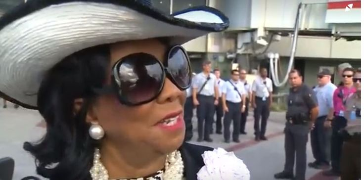 Rep. Frederica Wilson (D-FL) isn't messing around with Trump's Twitter games and insults. She is calling out Trump's White House for being full of white supremacists.
