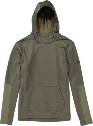 Mountain Hardwear Men's Kiln Fleece Pullover Hoodie Stone Green XXL