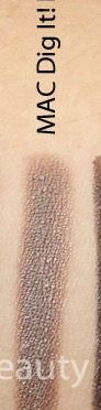 """MAC """"DIG IT"""" EYE KOHL (wood) LINER (VERY RARE!!!): silvery-taupe color, w/pearly finish."""