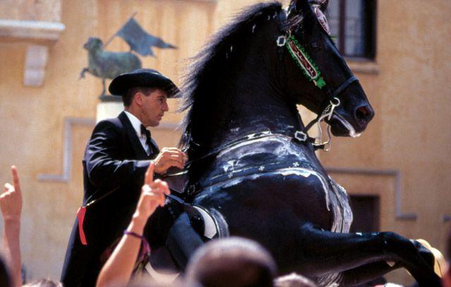 SAINT JOHN FESTIVITIES IN CIUTADELLA. Horses and tradition - MENORCA (Balearic Islands, Spain)