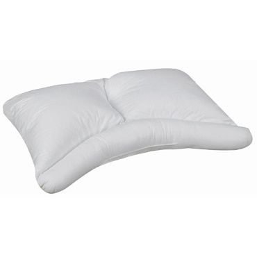 Pillows can reduce your pressure points. Besides daily stress, discomfort due to pressure points prevents deep restful sleep, particularly for side sleepers, where a conventional pillow combined can cause pinch points at the base of the neck, the caps of the shoulders, lower spine, hips, and knees. Although regular pillows can cushion pressure points, a side sleeper or body pillow may be the best pillow for side sleepers.