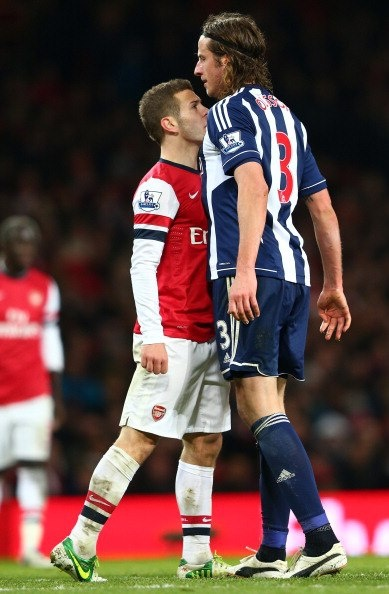 Jack Wilshere proves toughness isn't measured in height.