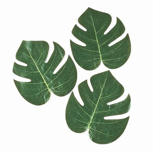 Our Tropical leaves will create a summer paradise atmosphere on any party!!  They are perfect for a luau, a Hawaiian party or any summer party!  Decorate a trop