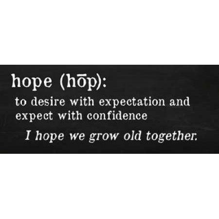 Posterazzi Hope Definition Canvas Art - Anna Quach (24 x 48)