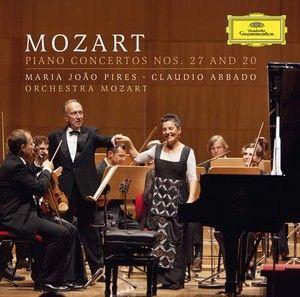 MOZART Piano Concertos Nos. 27 + 20 Pires - Deutsche Grammophon