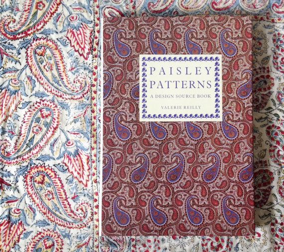Vintage Paisley Patterns A Design Source Book by VelvetEra on Etsy