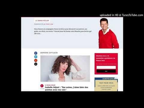 France Inter. Adjani. Les vaccins Obligatoires du gouvernement Macron (Fichier Audio) - YouTube