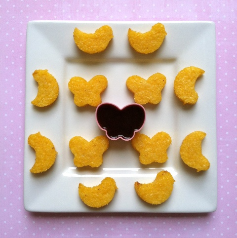 Baked polenta fries | Good Looking Recipes | Pinterest