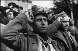 SPAIN. 1936. Barcelona. The International Brigades are made to leave Spain by the Jallander Commission.