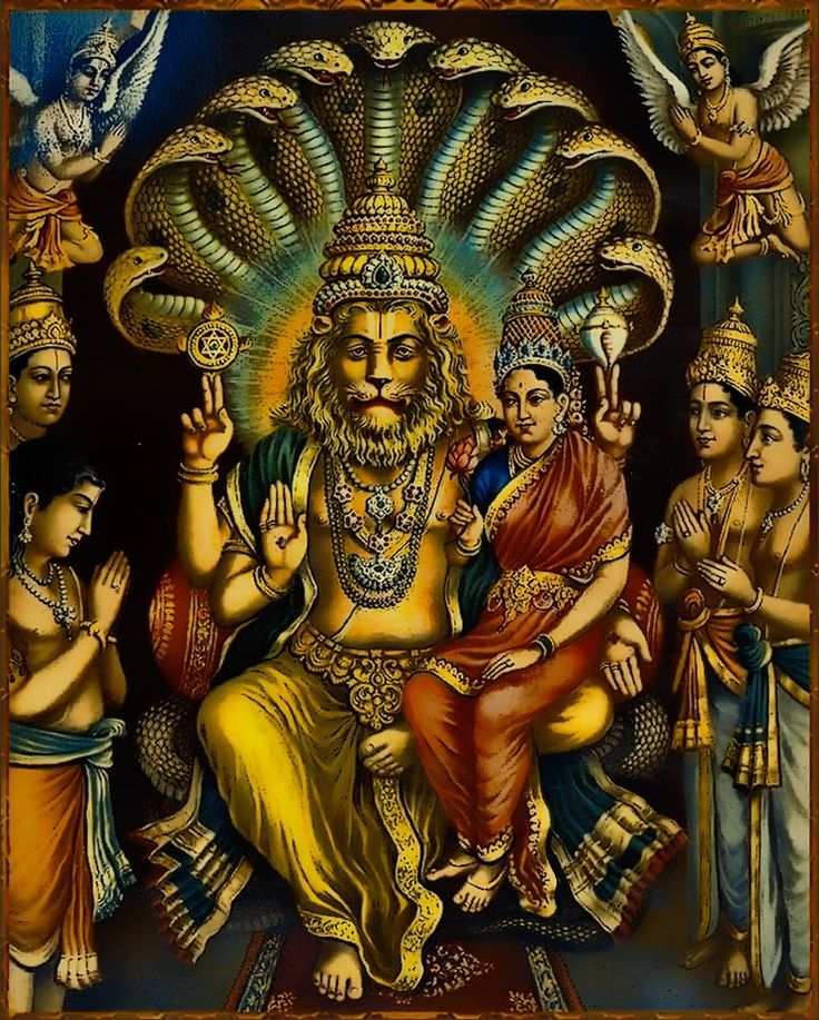 Dandavats | Lord Nrisimha: Protector of Devotees