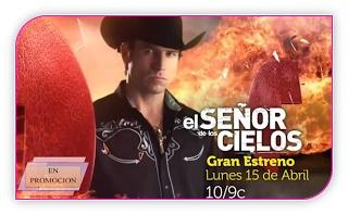 ENPROMOCION: El Señor De Los Cielos. El señor de los cielos, la nueva producción de Telemundo junto a Caracol Televisión  se esta promocionando actualmente por Telemundo de manera extenuante.