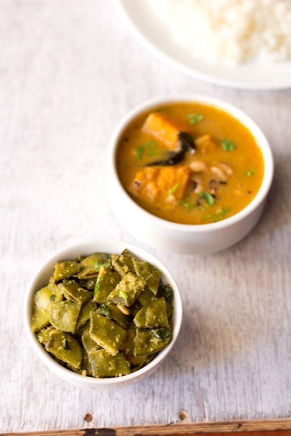 papdi bhaji recipe – a simple goan style, mildly spiced steamed dish ...