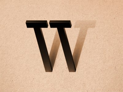 The shadows cast by the t letters to create a w are creative.  The W almost becomes the whole logo though.