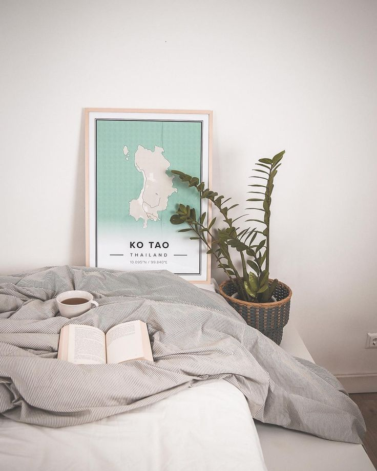 Map of Ko Tao, Thailand. Print size 50 x 70 cm. Custom map posters online. Mapiful.com.