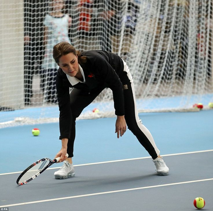 The keen tennis fan has taken over the patronage of the Lawn Tennis Association from the Queen