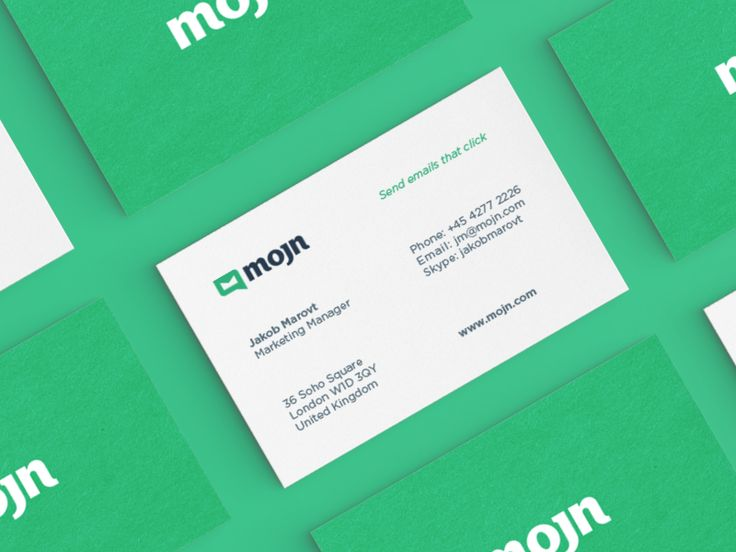 72 best brand identity business cards images on pinterest visit mojn business card colourmoves Image collections