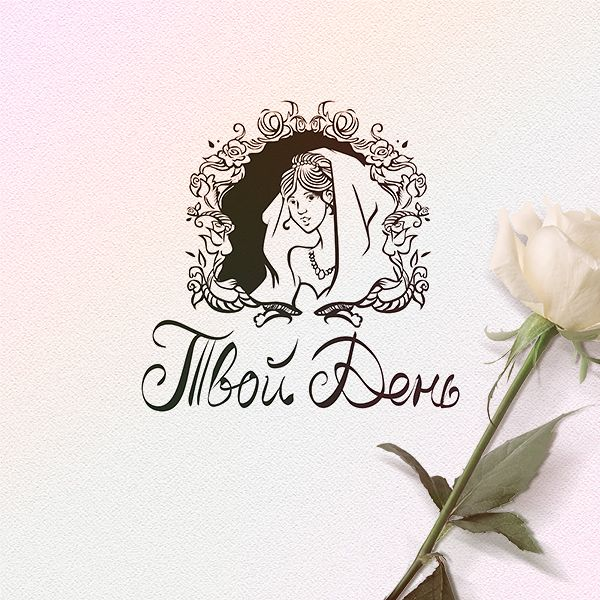 Дизайн логотипа свадебного салона