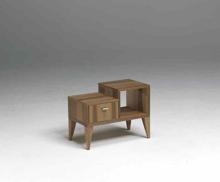 The Royal Room night stand forms part of this stunning room range in American walnut. A free-standing piece available in one size in a choice of left or right formation. #nightstand #hotelfurniture #bedroomfurniture