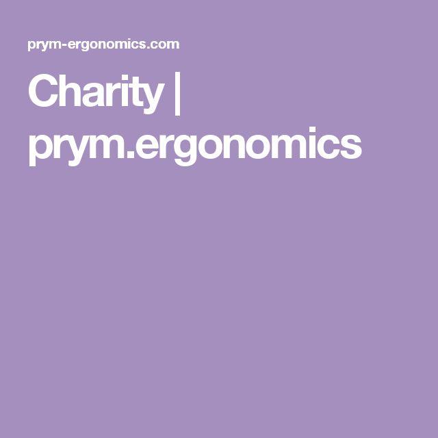 Charity | prym.ergonomics