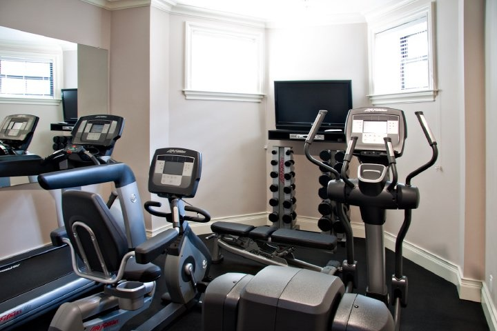 Fitness Center with State-of-the-art Cardiovascular Equipment.